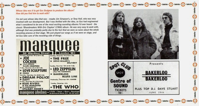Bakerloo – Bakerloo, 1969