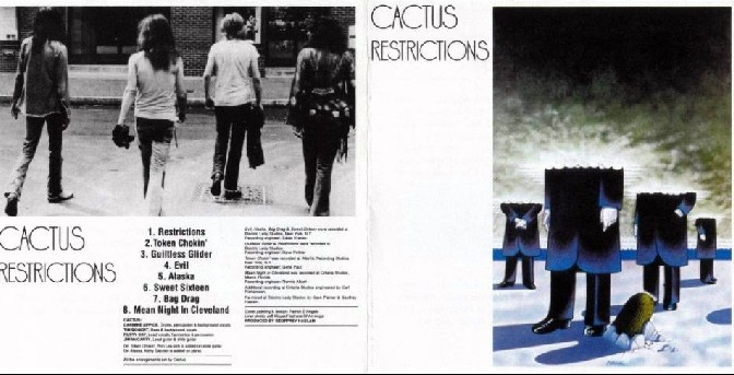 Cactus – Restrictions, 1971