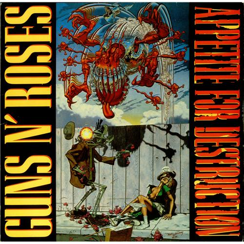 Appetite For Destruction Book Cover