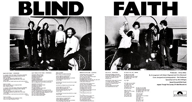 Blind Faith – Blind Faith, 1969