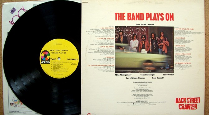 Back Street Crawler – The Band Plays On, 1975