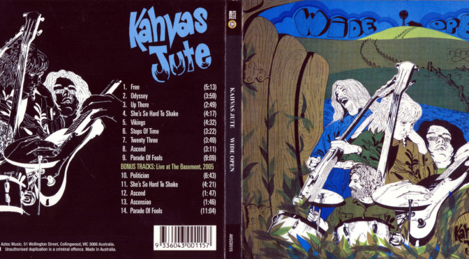 Kahvas Jute – Wide Open, 1971