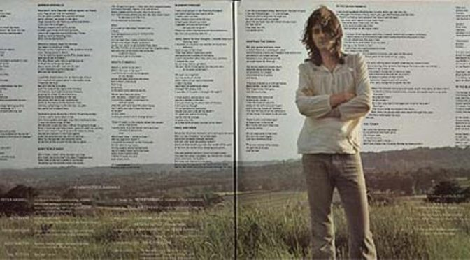 Peter Hammill: Chameleon In The Shadow Of The Night (1973)