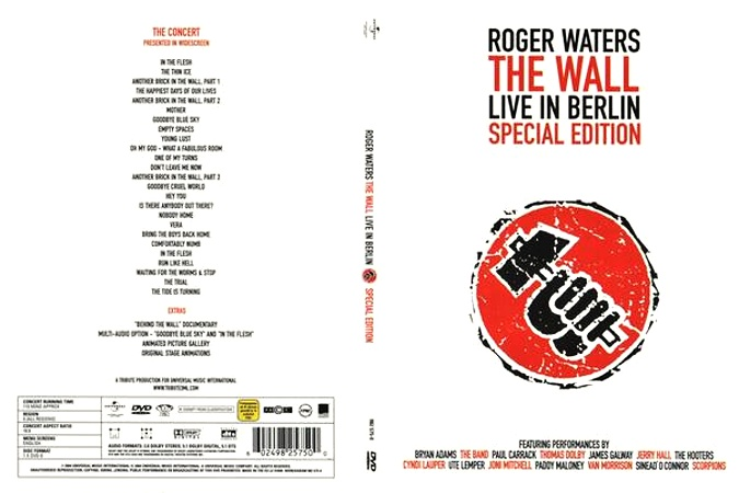 The Wall: Live In Berlin Book Cover