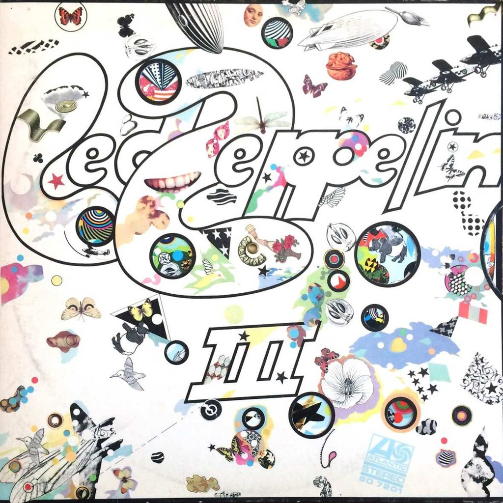 Led Zeppelin III Book Cover