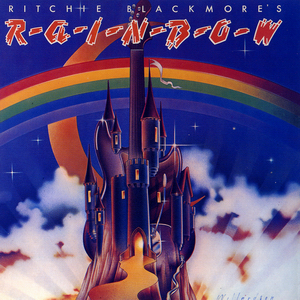 Ritchie Blackmore's Rainbow Book Cover