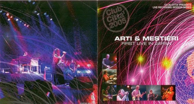 Arti & Mestieri – First Live In Japan, 2006
