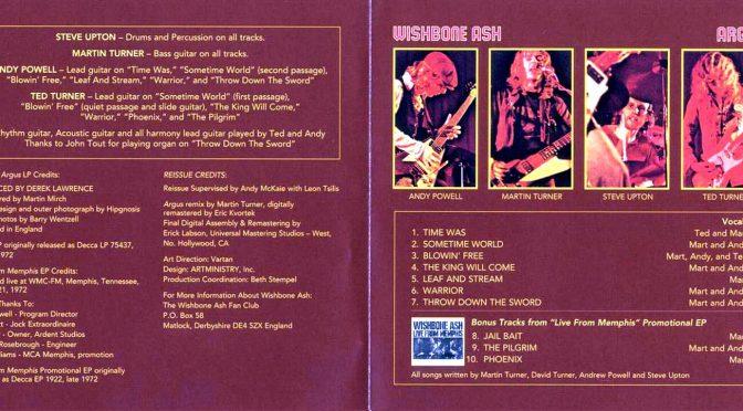 Album roka 1972. Album každého nasledujúceho roka.