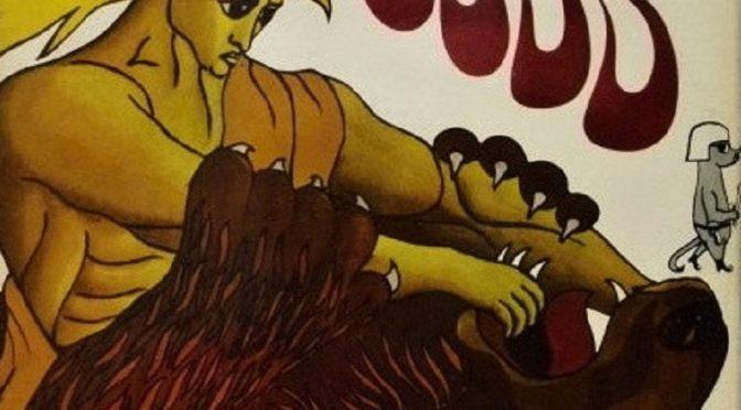 Vrčiaci lev slabučko hryzká