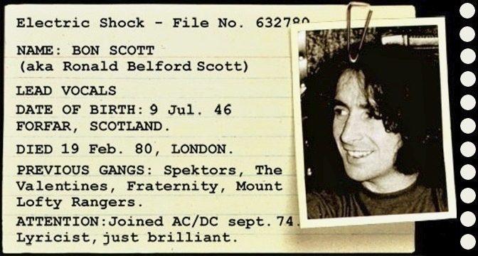 Bon Scott (pre-AC/DC)