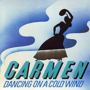 Dancing On A Cold Wind Book Cover