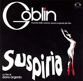 Suspiria Book Cover
