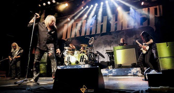 Spomienka na vystúpenie Uriah Heep a The Zombies