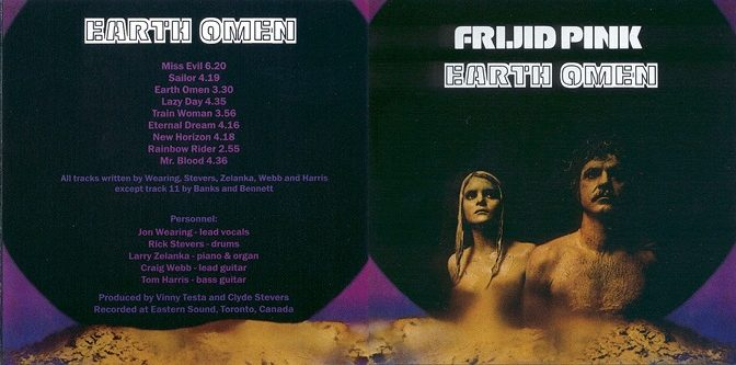 Frijid Pink – Earth Omen (1972)