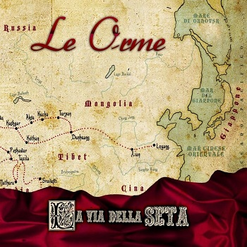 La Via Della Seta Book Cover