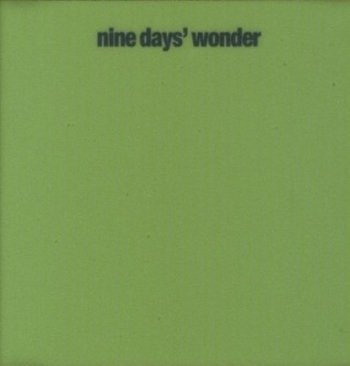 Nine Days' Wonder Book Cover