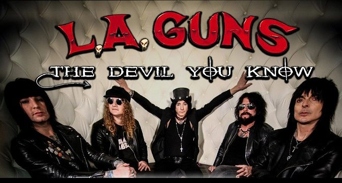 L. A. Guns ‎– The Devil You Know (2019)
