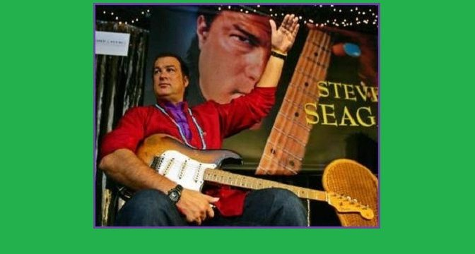 Steven Seagal ‎– Songs From The Crystal Cave (2004)