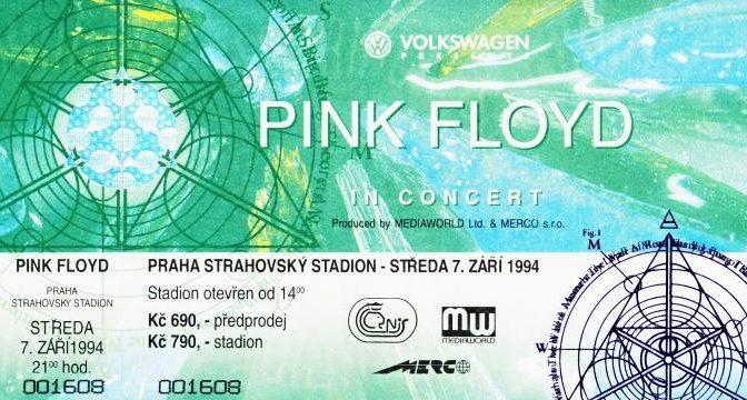 Pink Floyd v branách vzpomínání