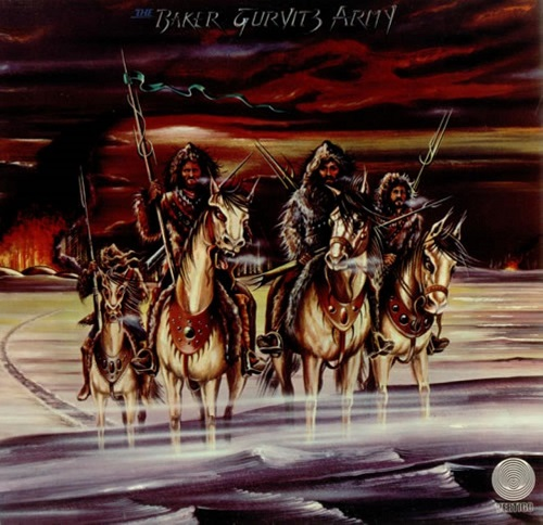 The Baker Gurvitz Army Book Cover