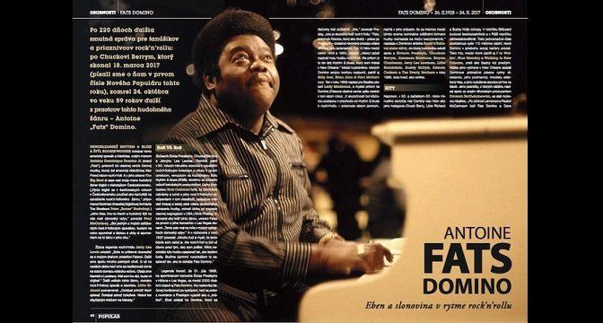 FATS DOMINO * Eben a slonovina v rytme rock'n'rollu