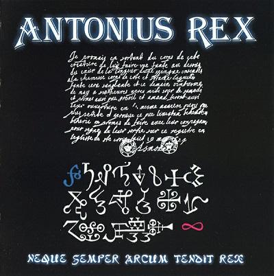 Neque Semper Arcum Tendit Rex Book Cover