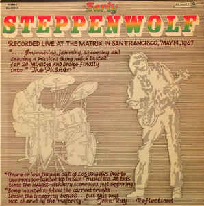 Early Steppenwolf Book Cover