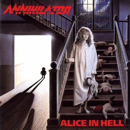 Alice In Hell Book Cover