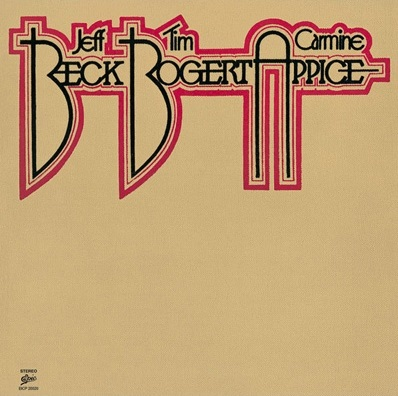 Beck, Bogert & Appice Book Cover