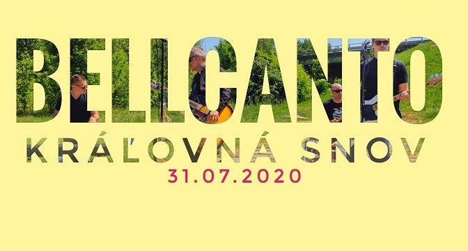 BELLCANTO a jeho nový hit Kráľovná snov