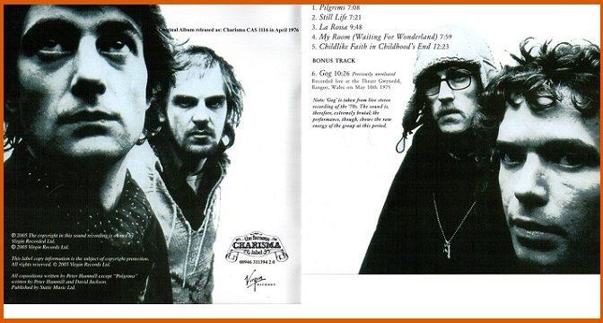 Van Der Graaf Generator – Still Life (1976)