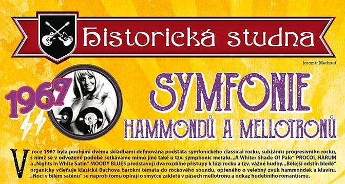 1967/5: Symfonie hammondů a mellotronů