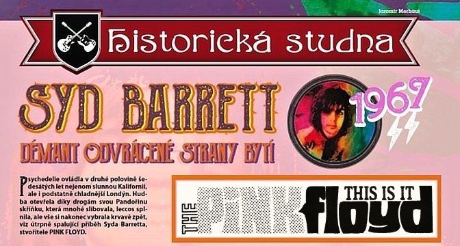 1967/10: Syd Barrett – démant odvrácené strany bytí