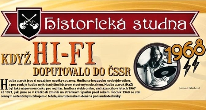 1968/3: Když HI-FI doputovalo do ČSSR