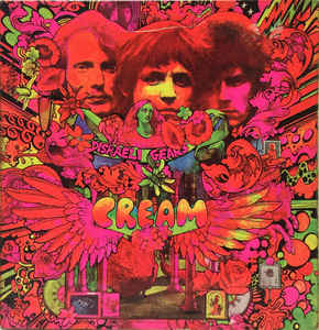 Disraeli Gears Book Cover