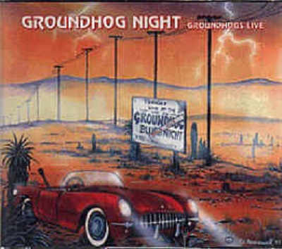 Groundhog Night - Groundhogs Live Book Cover