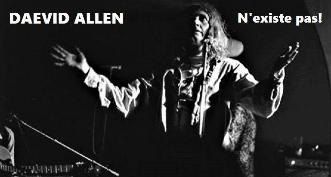 DAEVID ALLEN – N'existe pas! (1979)