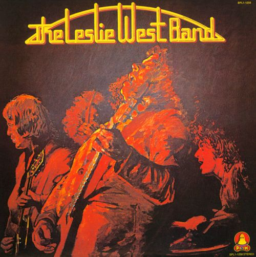 The Leslie West Band Book Cover