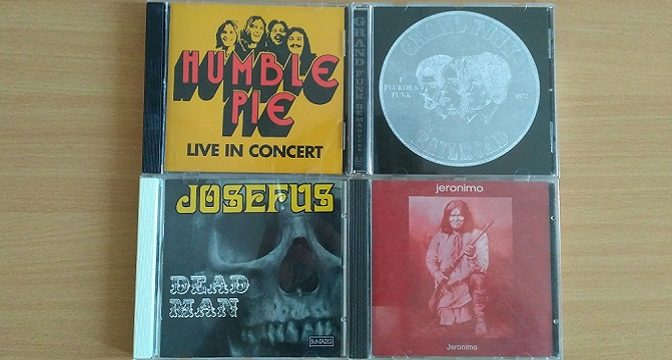 Josefus – Humble Pie – Jeronimo – Grand Funk Railroad