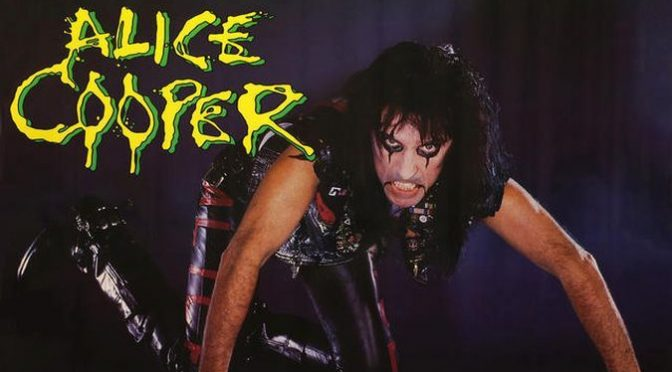 Alice Cooper – Raise Your Fist And Yell, 1987