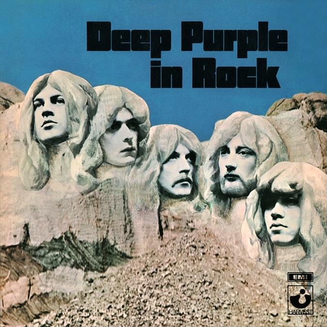 Deep Purple In Rock Book Cover