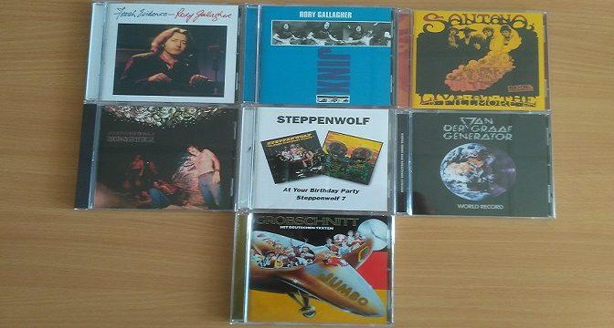 Gallagher, Grobschnitt, Santana, Steppenwolf a Van Der Graaf Generator