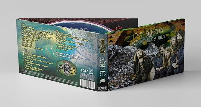NEKTAR – …SOUNDS LIKE SWISS (CD/DVD)