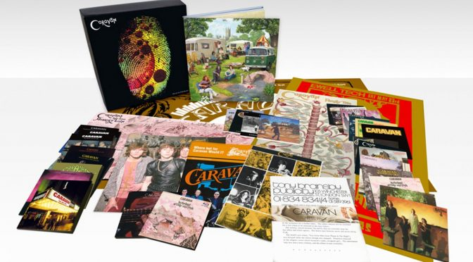 Caravan – Who Do You Think We Are? 37- disc box set