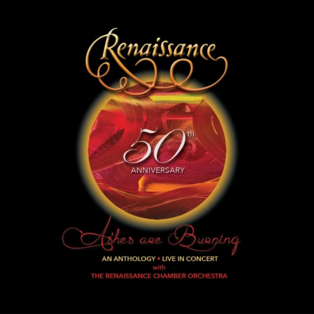 50th Anniversary – Ashes Are Burning: An Anthology – Live In Concert Book Cover